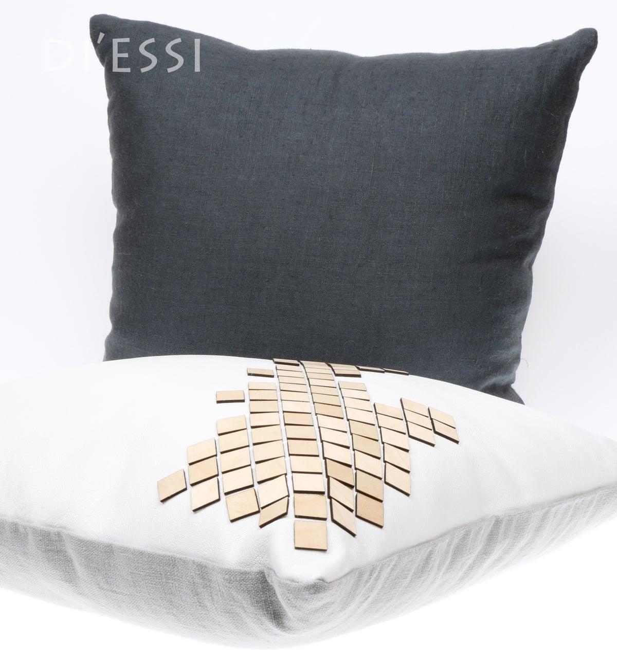 Image of Decorative Cushion - Dark Grey