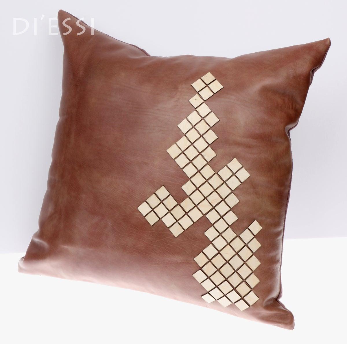 Image of Decorative Cushion - Claret