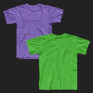 Image of Crew Neck Tee Shirt Mockup