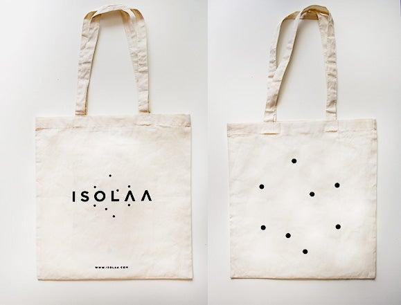 Image of Tote bag Logo Recto Verso Isolaa