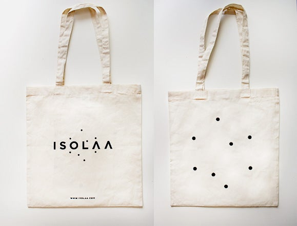 Image of Tote bag Logo Recto Verso Isolaa