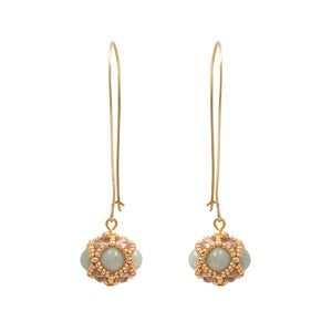 Image of Amazonite Empire Earrings