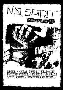Image of No Spirit #2 HC/Punk Fanzine