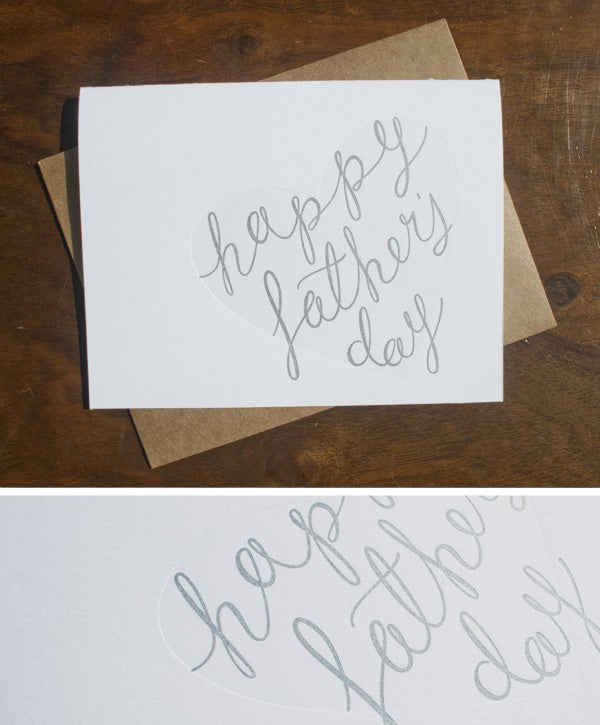 Image of Happy Father's Day Card