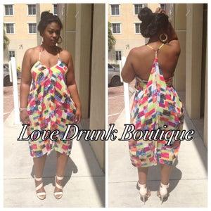Image of Summer Color Block Dress