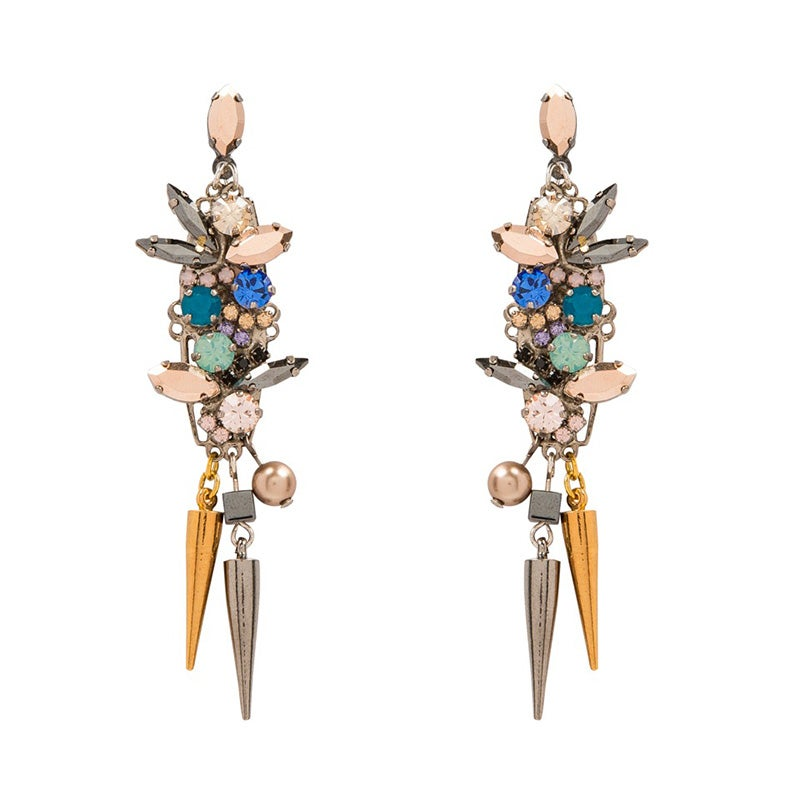 Image of Passion Flower Earrings