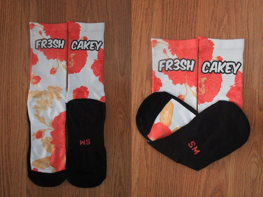 Image of Fr3sh & Cakey Clothing. Floral Edition Socks