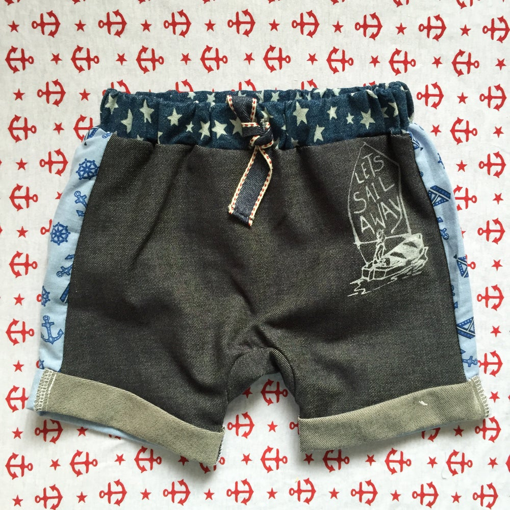 Image of Hello Sailor boy shorts size 0