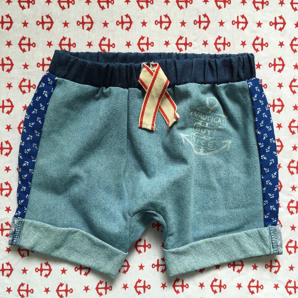 Image of Hello sailor boy shorts size 1