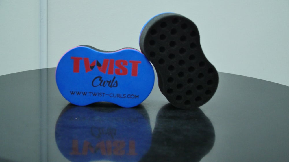 Image of twist curls sponge