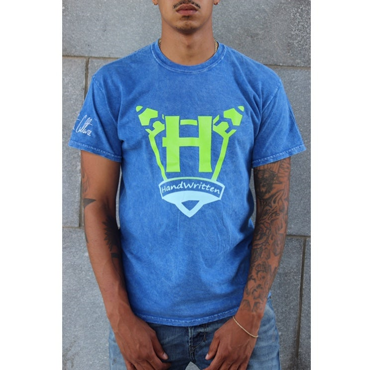 Image of Handwritten Retro Gradient T-shirt