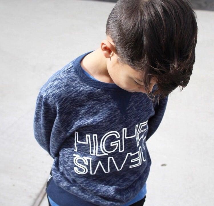 Image of Higher Dreams  organic cotton Sweatshirt