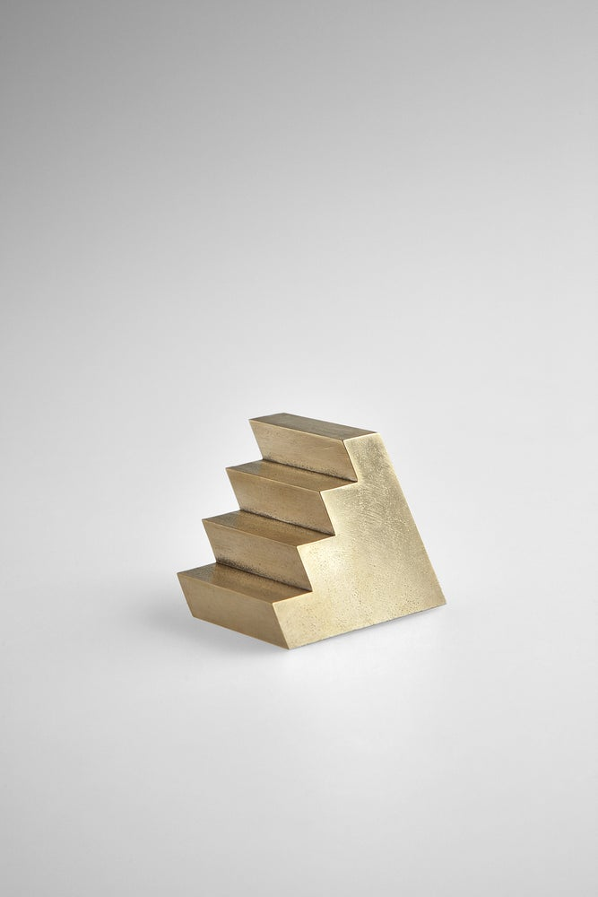 Image of Brass Staircase Paperweight