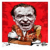 Image of Drinking Duddies Bukowski Mini Print