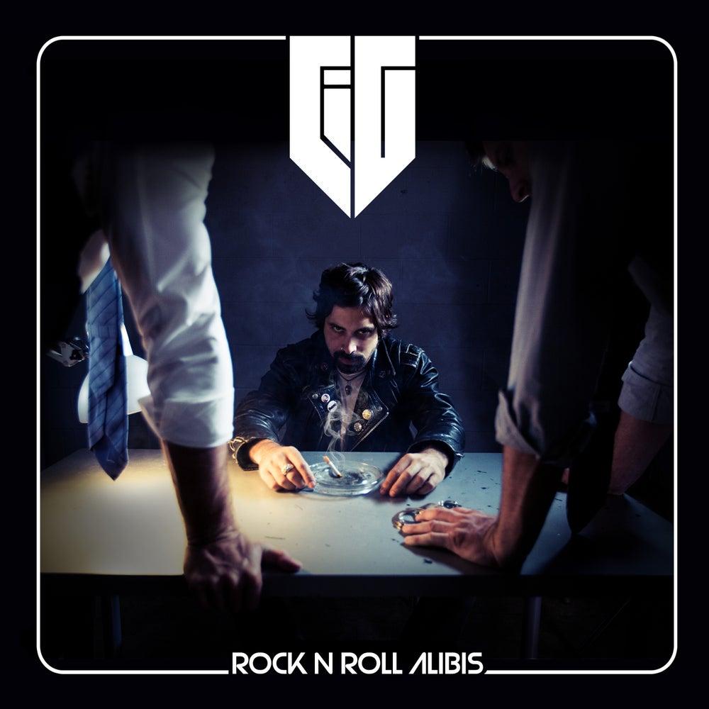 Image of CIG-ROCK N ROLL ALIBIS- CD (Autographed by CiG) ( w 6 panel insert)(w free CiG guitar pick)