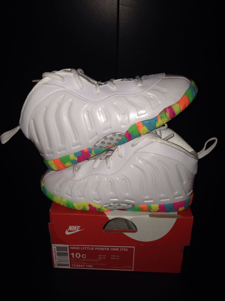 "Image of Nike Little Posite One TD PS ""Fruity Pebbles"""