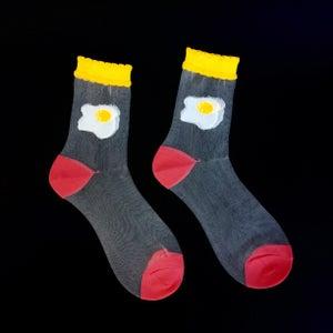 Image of Food Nymph Mesh Socks