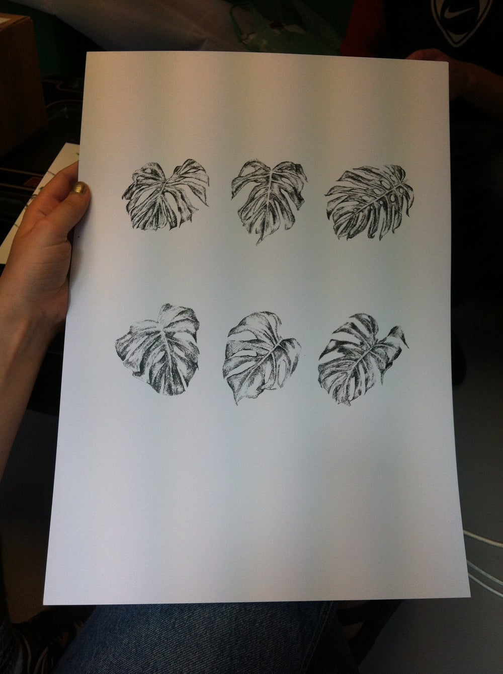 Image of A3 Black and White print