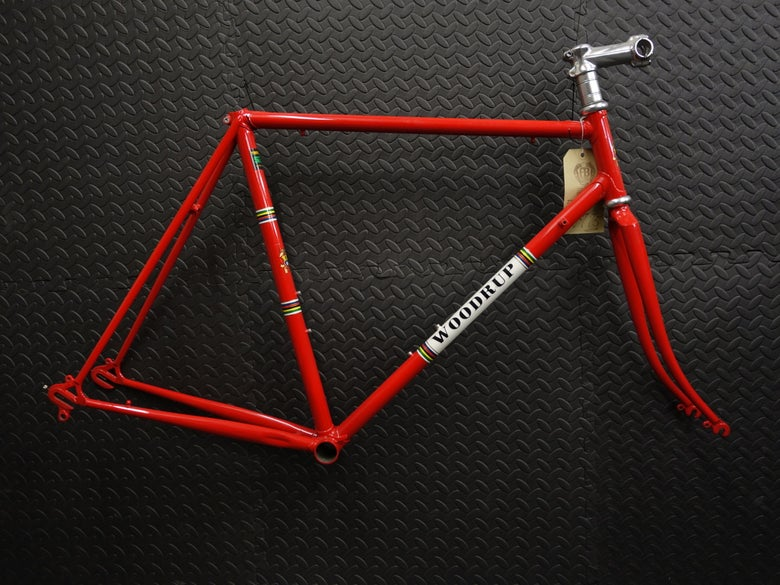 Image of Woodrup Team 75 Audax/Road Frame NEW