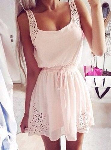 Image of Sleeveless dress