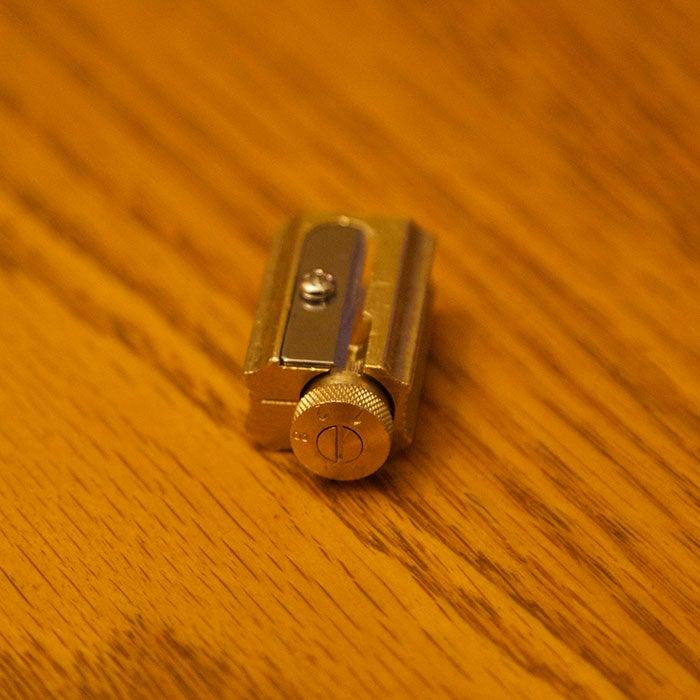 Image of DUX Brass Adjustable Precision Pencil Sharpener
