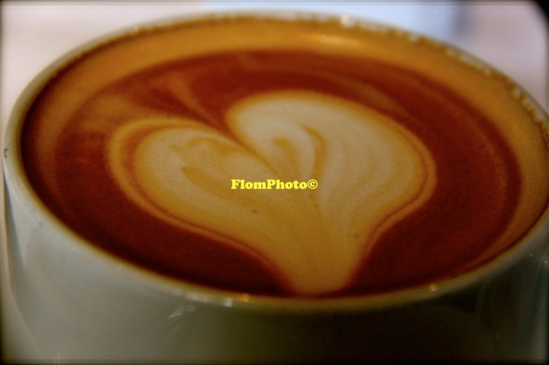 Image of Latte Art • Exhibition Photograph