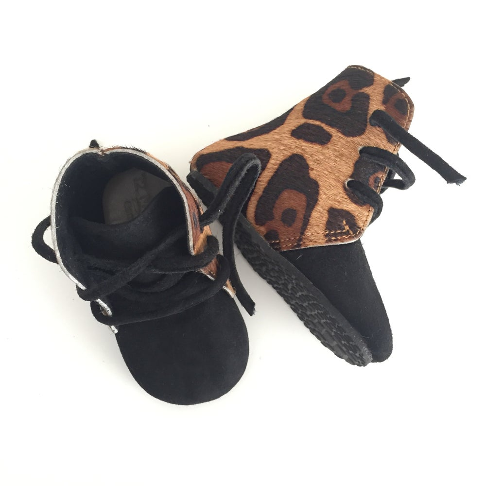 Image of Leopard Boot