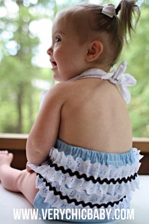 Image of Alice in Wonderland Inspired Sunsuit