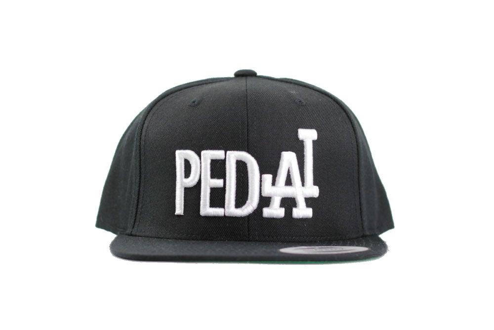 Image of PEDAL Black Snapback Unisex One size