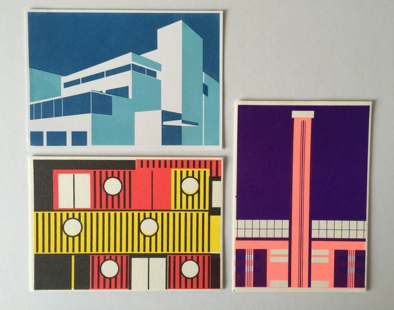 Image of Riverside Architecture Postcards