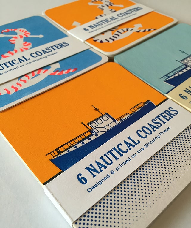 Image of Nautical Coasters