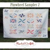 Image of pinwheel sampler 2 quilt pattern #115 (PDF VERSION)