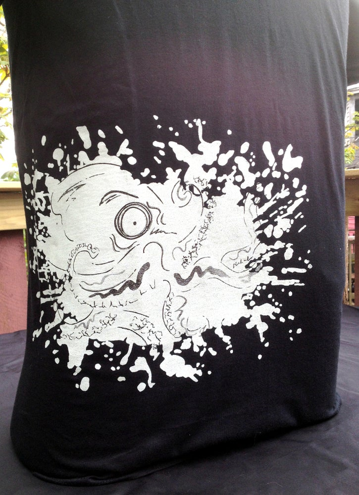 Image of Octopus Print on Anvil Tees!