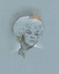 Image of Etta James print by Shannon Shaw