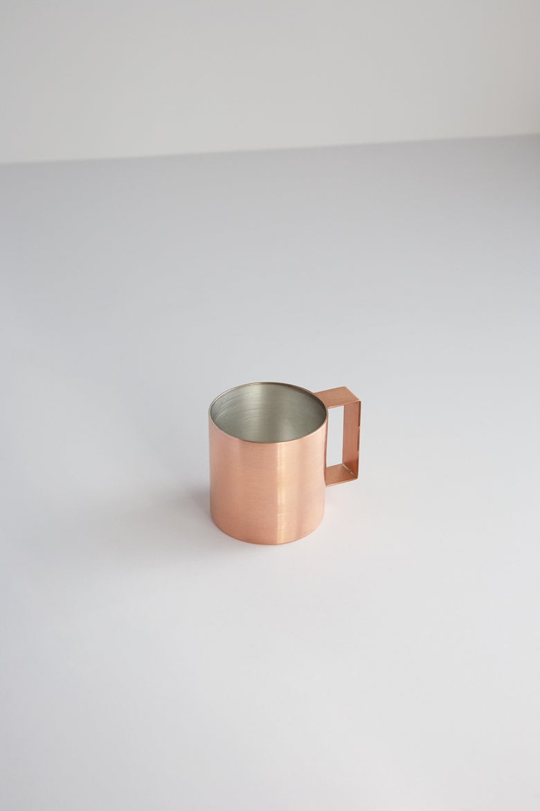 Image of 3/4 Copper Cup (Sold as pair)