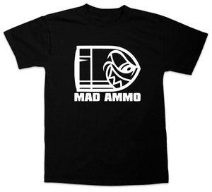 Image of Mad Ammo Logo T-Shirt - Black Tee