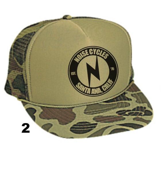 Image of Camo N trucker hat