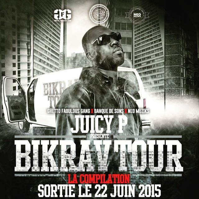 Image of NEWZ! JUICY P CD COMPILATION BIKRAV'TOUR