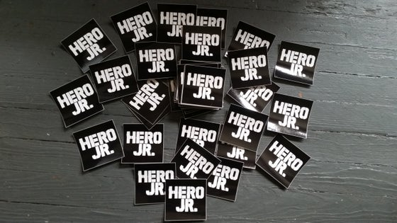 "Image of HJ Stickers 3""×3"" square 2 for $2.00"