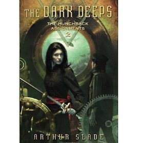 Image of The Hunchback Assignments #2: The Dark Deeps hardcover (signed)