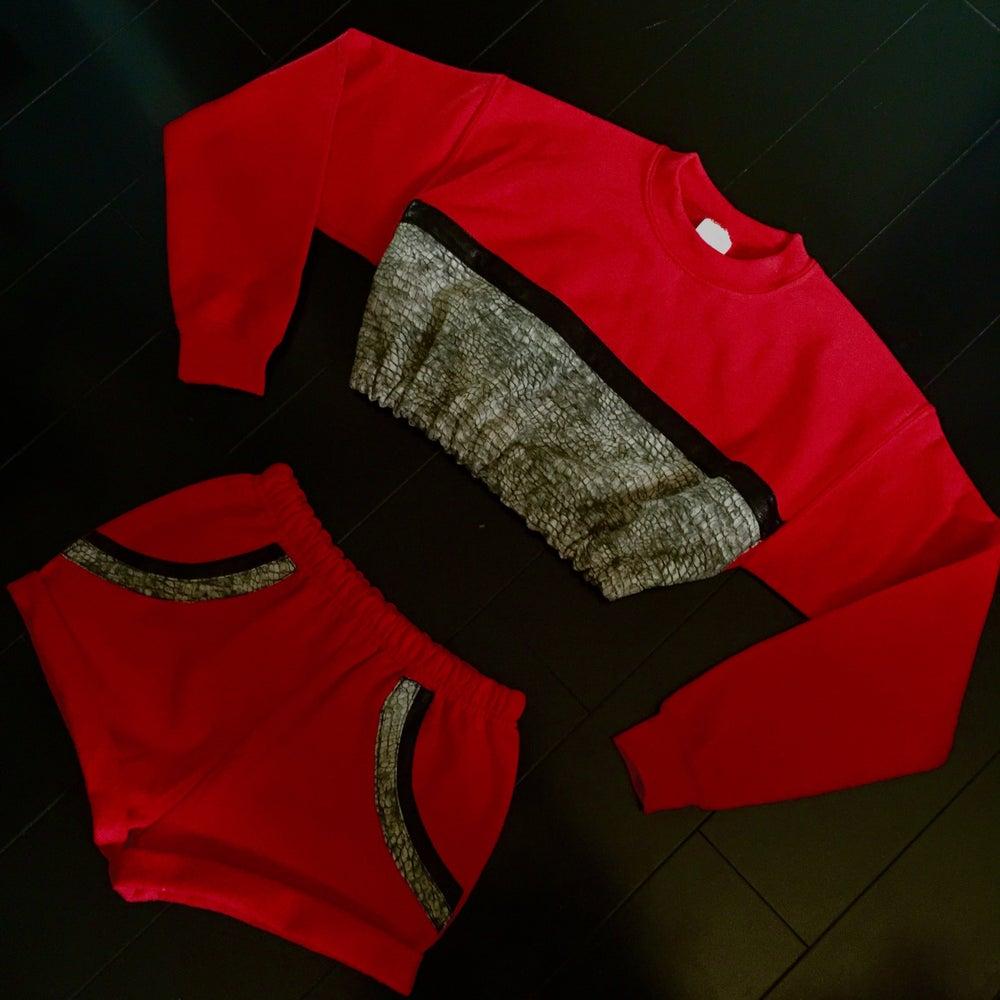 Image of CropTop & Short Set (1of1)