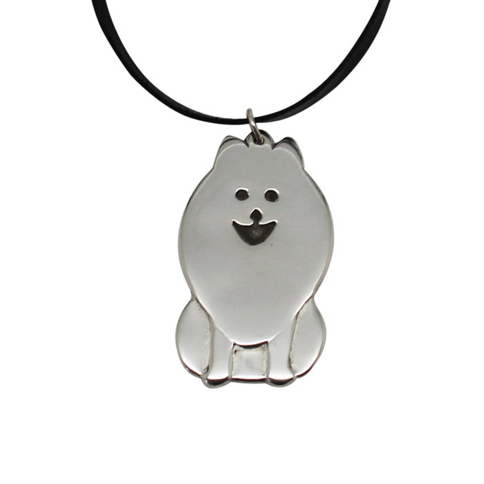 Image of Doggie Sterling Silver Necklace