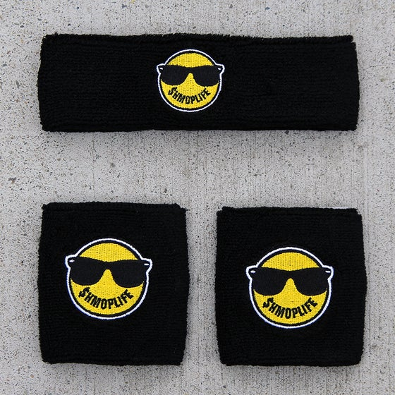 Image of SHMOPLIFE HEAD+WRISTBAND PACK