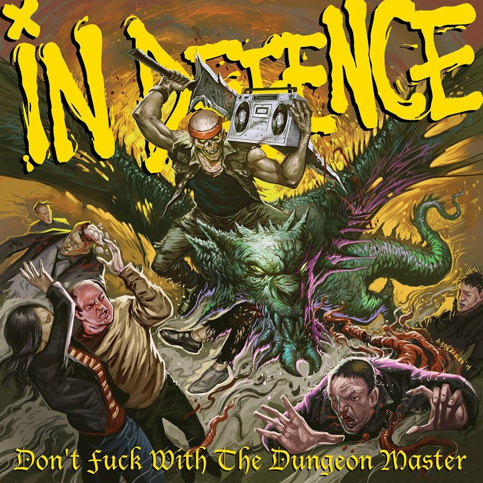 Image of DON'T FUCK WITH THE DUNGEON MASTER CD