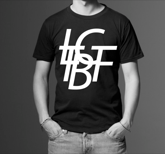 Image of LTBGF BIG LOGO T BLACK