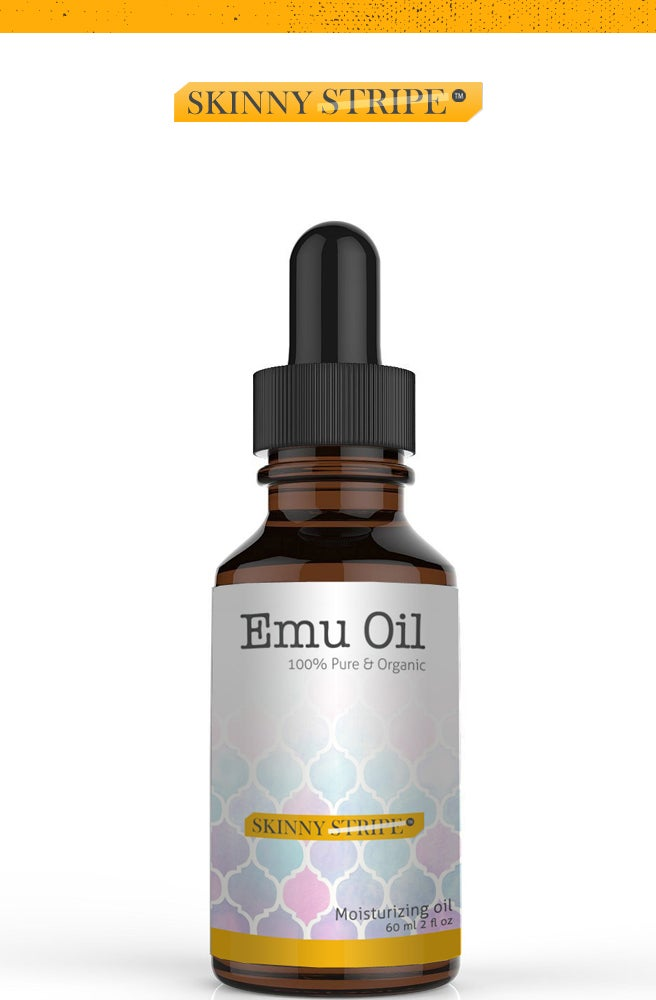Image of Organic EMU Oil by SkinnyStripe®