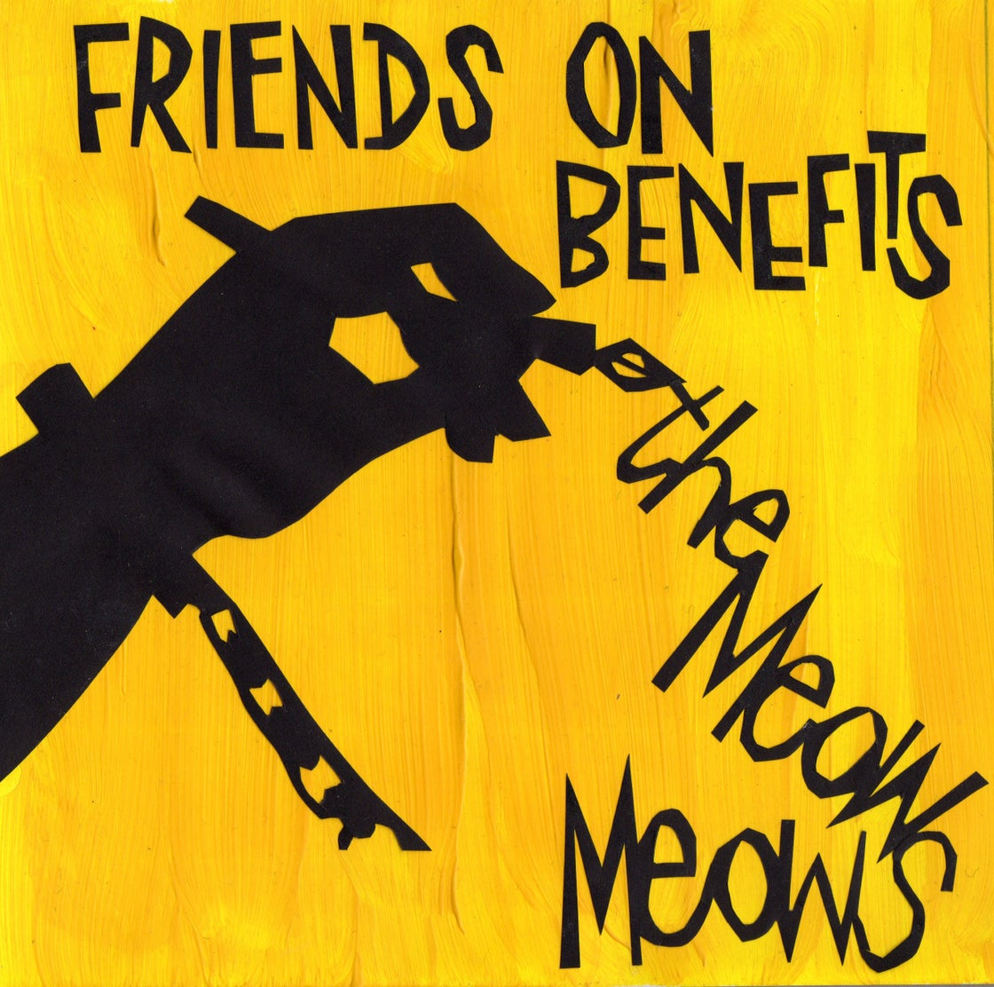 """Image of Friends On Benefits Limited Edition 7"""" Vinyl EP"""