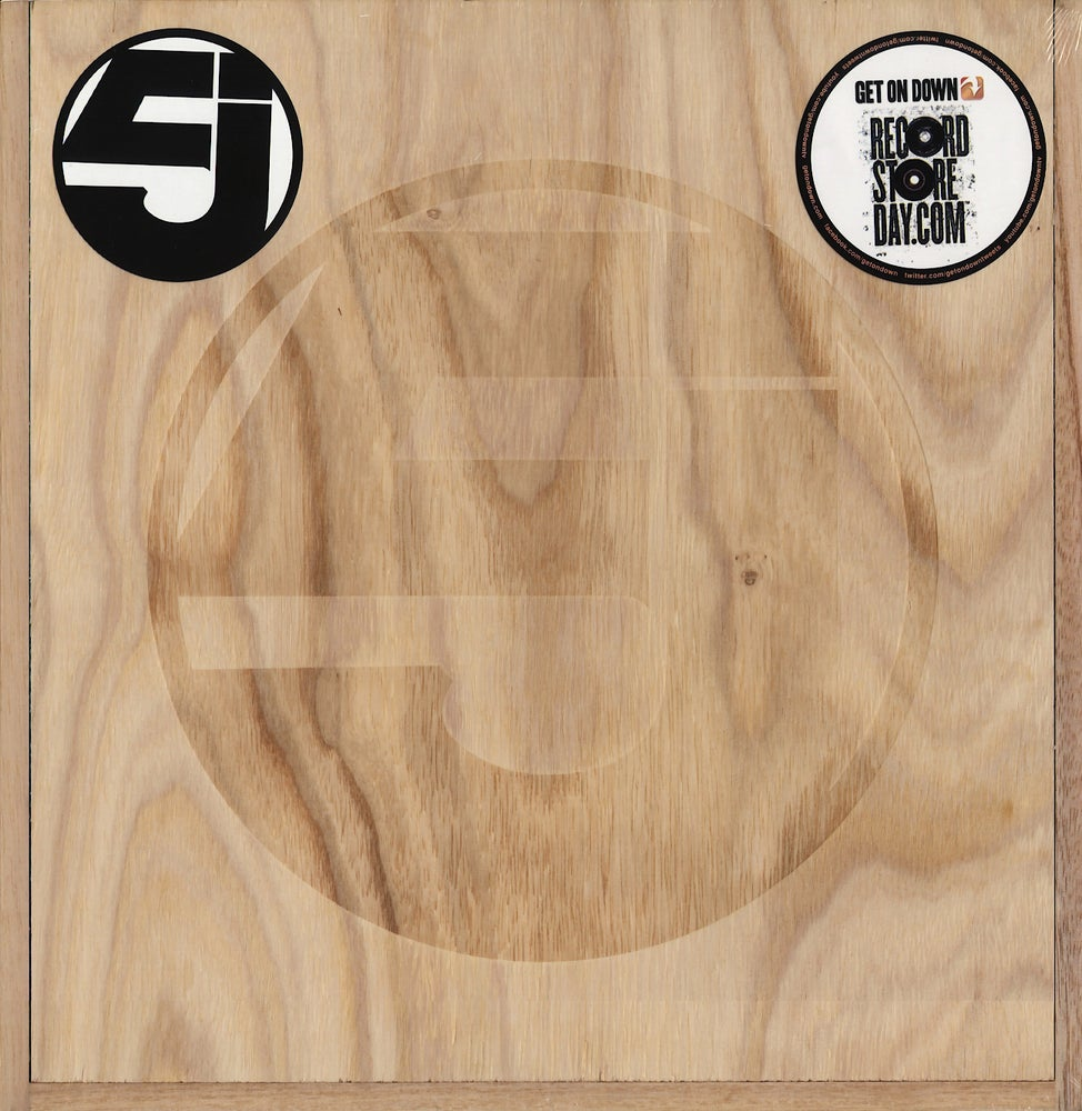 Image of JURASSIC 5-QUALITY CONTROL WOOD BOX SET