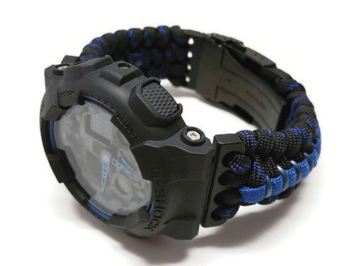 Image of Thin Blue Line Paracord 2.0 - LEO Inspired
