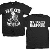 "Image of DEAD CITY RECORDS ""New York City Hardcore"" T-Shirt"